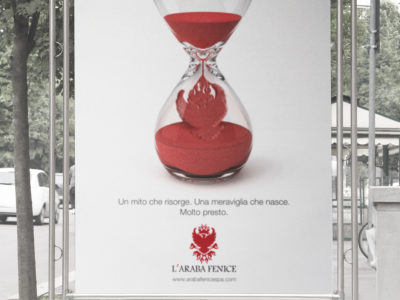 L'Araba Fenice advertising