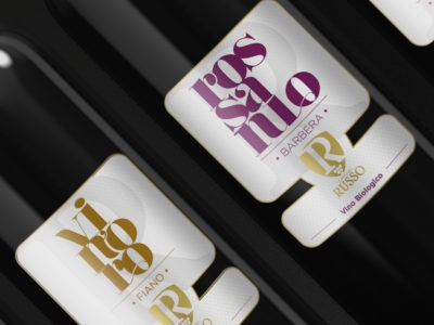 Cantina Russo wine labels
