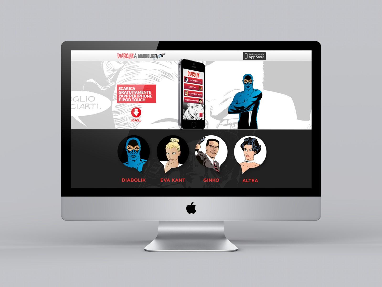 Diabolika Mankolista website