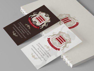 Principi Carafa brand identity