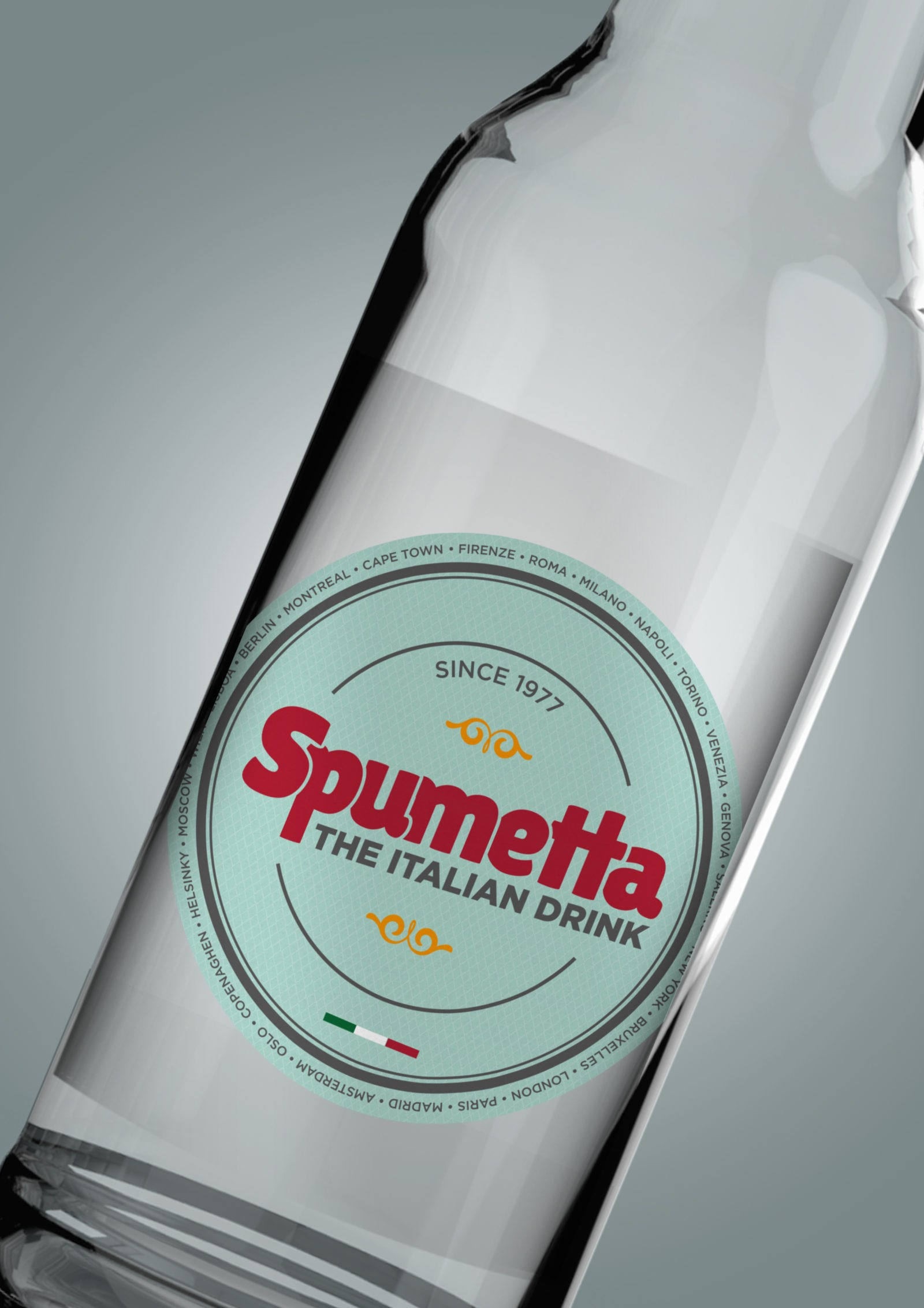 Spumetta label