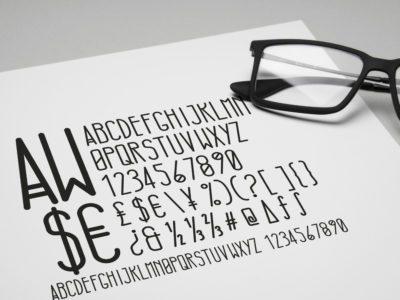 Tycho typeface