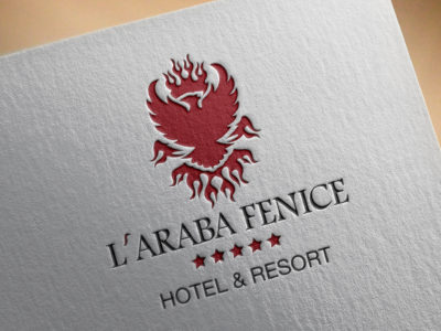 L'Araba Fenice brand identity