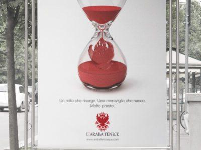 L'Araba Fenice advertising