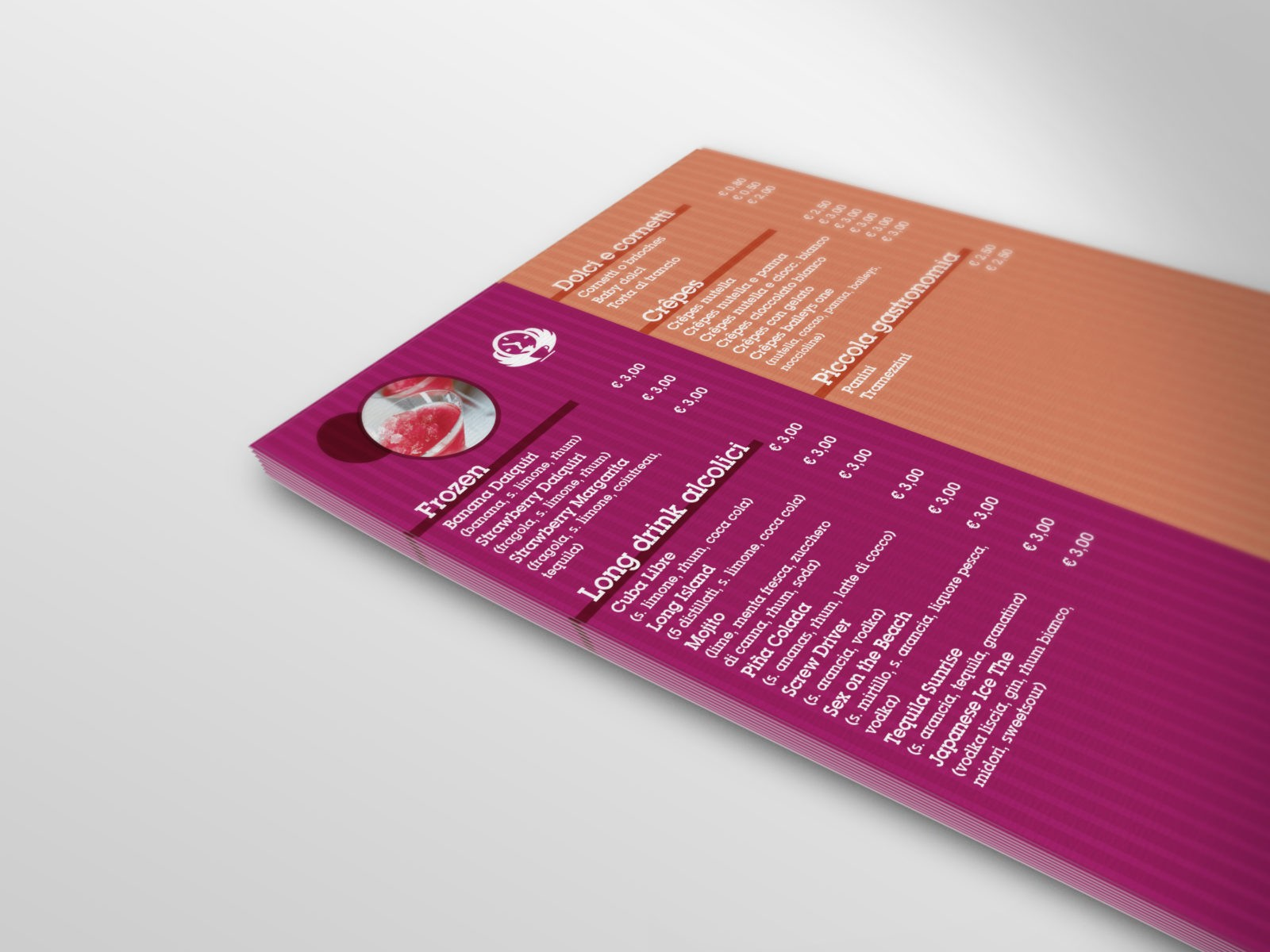 Hera Hora menu