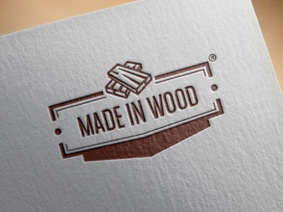 Made in wood brand identity