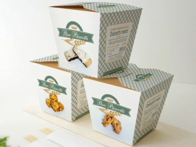 Pan & Biscotti brand & packaging