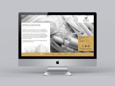 Icos costruzioni website