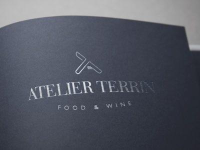 Atelier Terrin brand identity