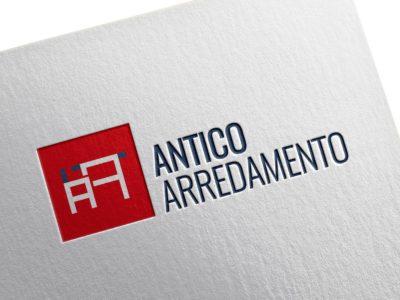 Antico Arredamento brand identity