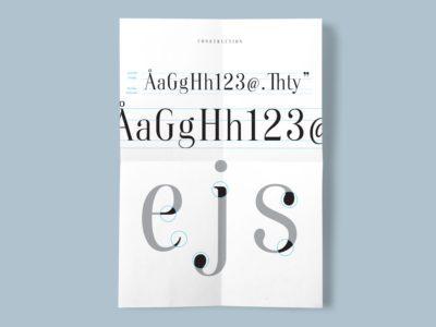 Dist Typeface