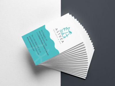 Astrea Wellness brand identity
