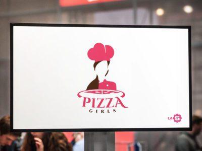 Pizza Girls logo for TV broadcast