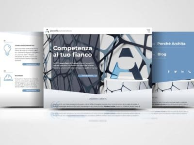Archita Engineering website