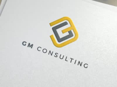 GM consulting brand identity